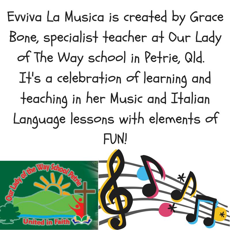 Evviva La Musica blog information