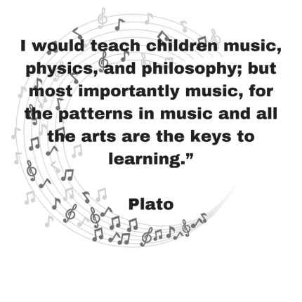 I would teach children music, physics, and philosophy; but most importantly music, for the patterns in music and all the arts are the keys to learning.""