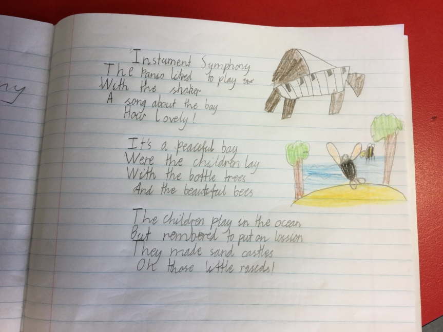 Cross-curricular Learning: Year 3 Writing, Poetry and Composing Musical Poems